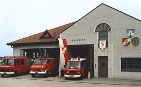 Das Feuerwehrdepot der Feuerwehr Schörfling