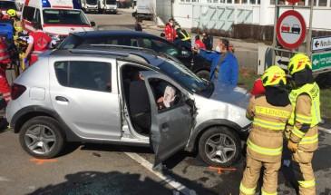 Verkehrsunfall in Lenzing