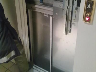 Personenrettung aus einem Aufzug